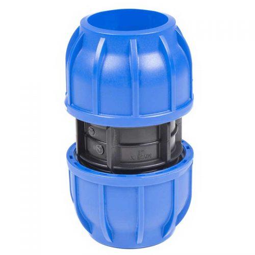 manguito unión accesorio instalación aire comprimido Jender