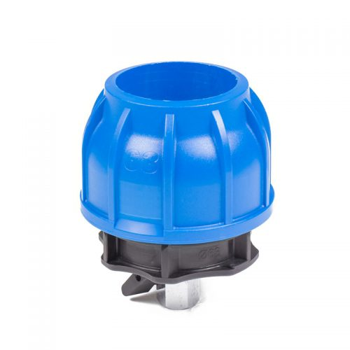 racor con mini válvula aire comprimido Jender