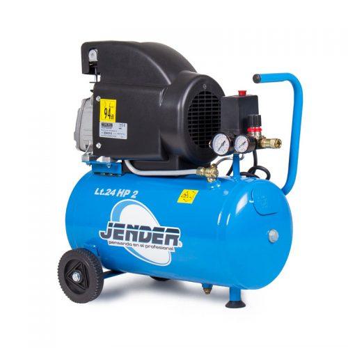 Compresor aire pistón 25 litros de Aire JENDER - Compresor 2 CV SKU: 2351.450