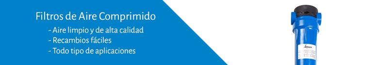 Distribución y venta de Filtros para tratamiento de aire en compresores Jender